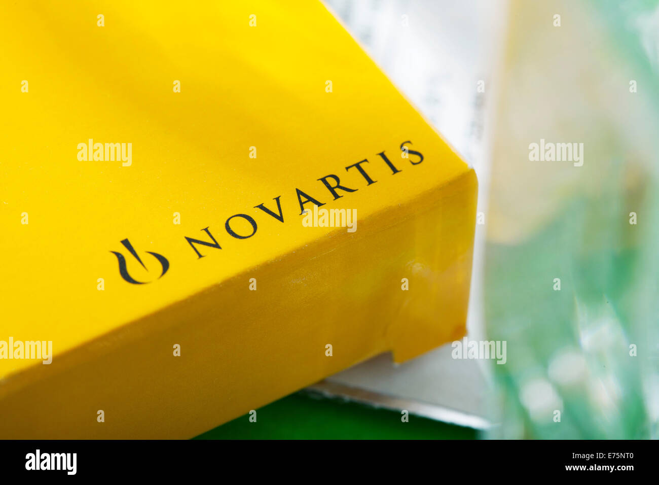 L'industrie pharmaceutique Photo Stock