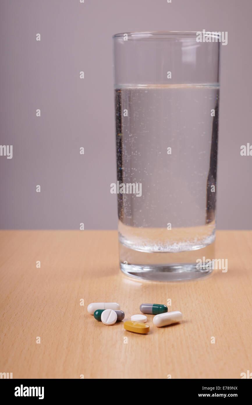 Ces médicaments Photo Stock