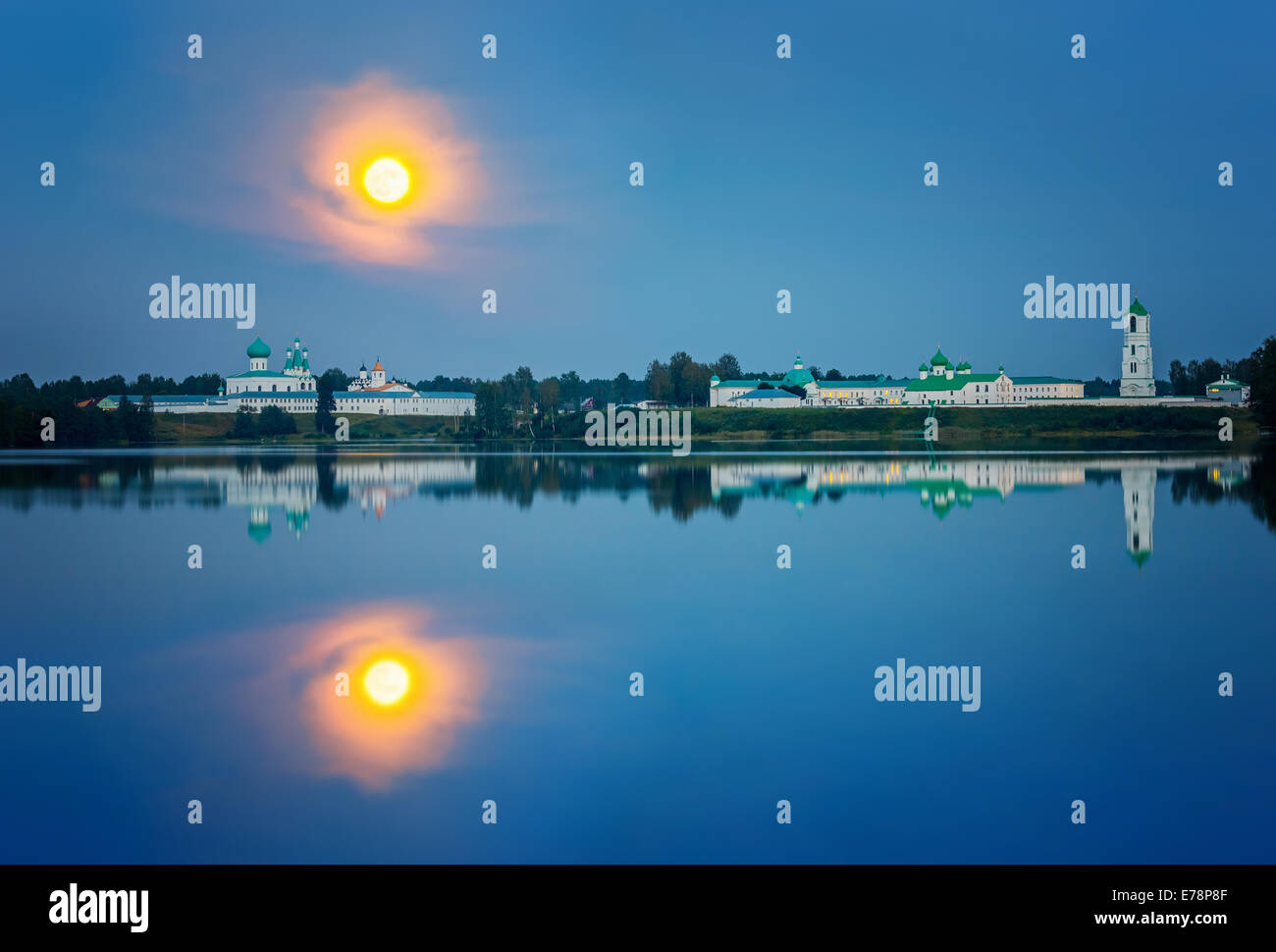 Alexandre Svirsky monastère, Russie Photo Stock