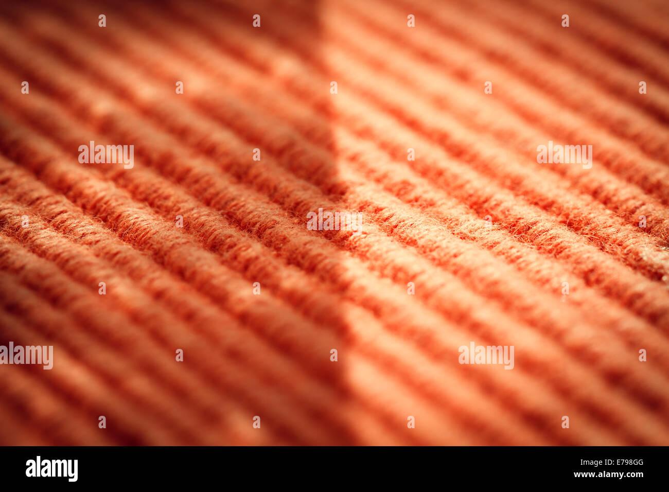 Résumé fond lignes textiles , macro Photo Stock