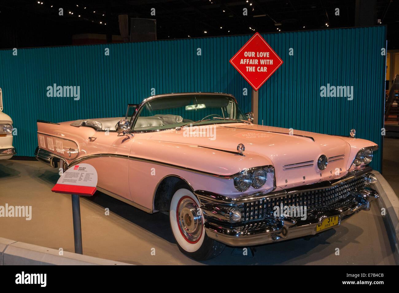 Elk203-5684 Canada, Alberta, Wetaskiwin, automobile, musée Reynolds-Alberta Photo Stock
