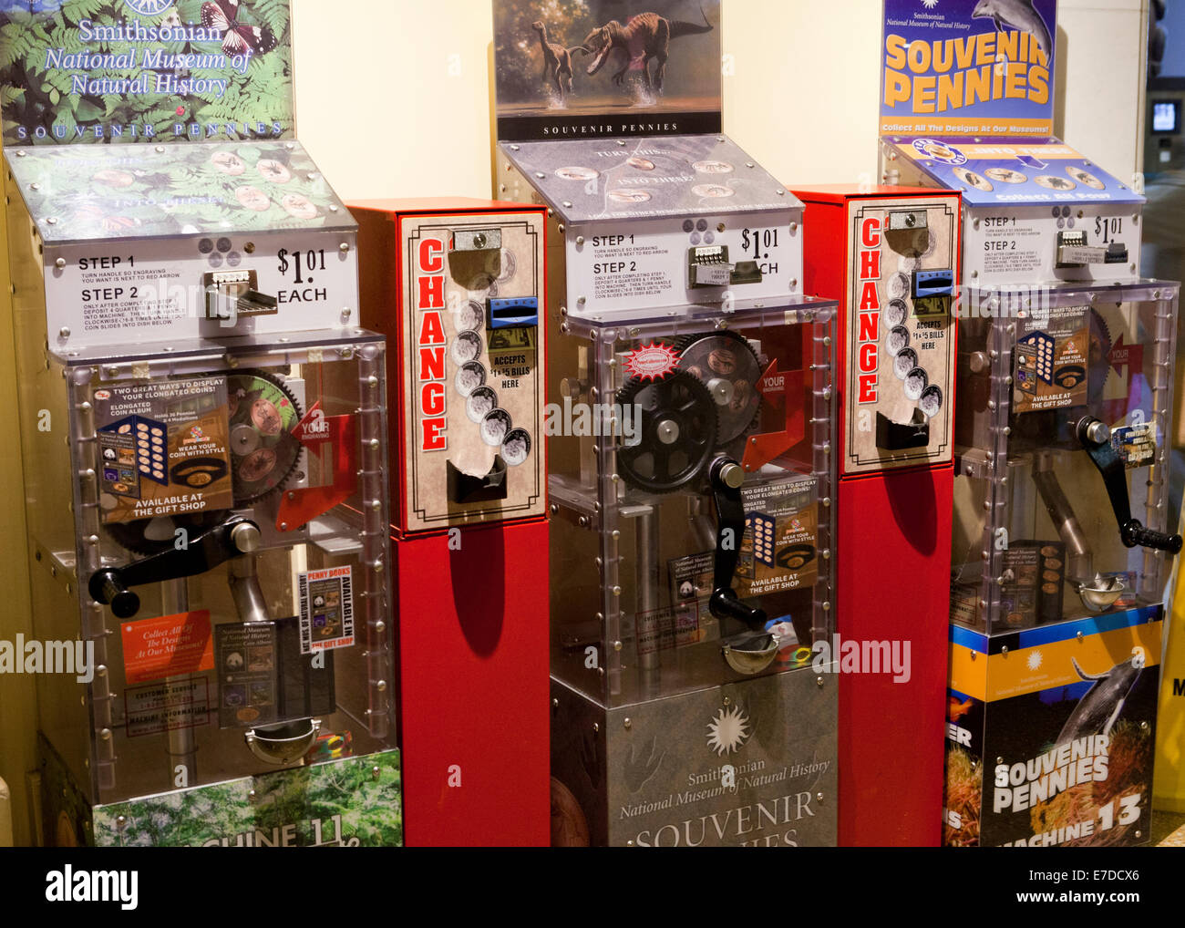 Souvenir Coin Machine Photos Souvenir Coin Machine Images Alamy