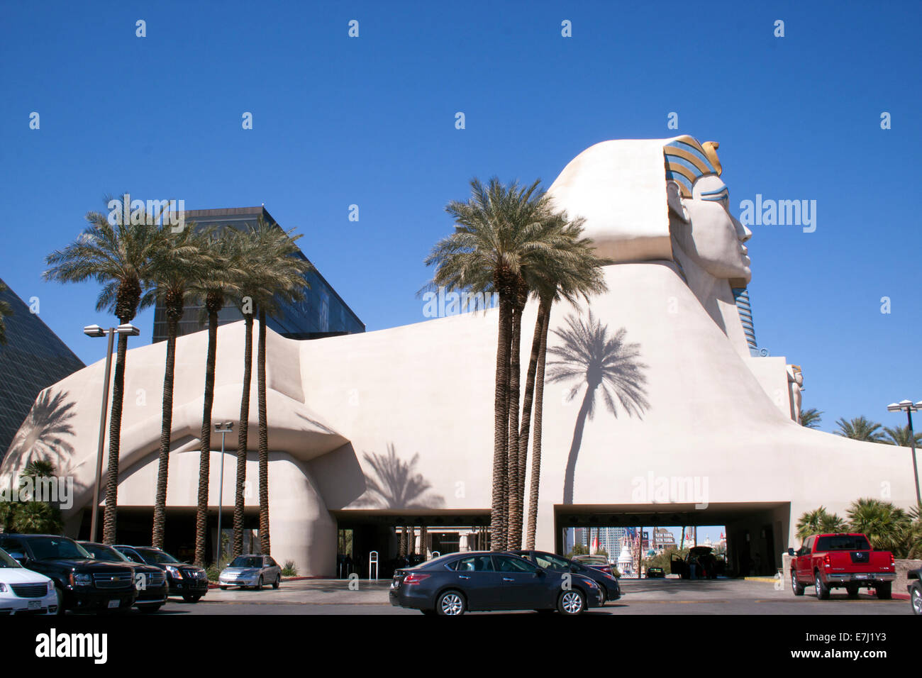 Le Luxor casino à Las Vegas au Nevada Photo Stock
