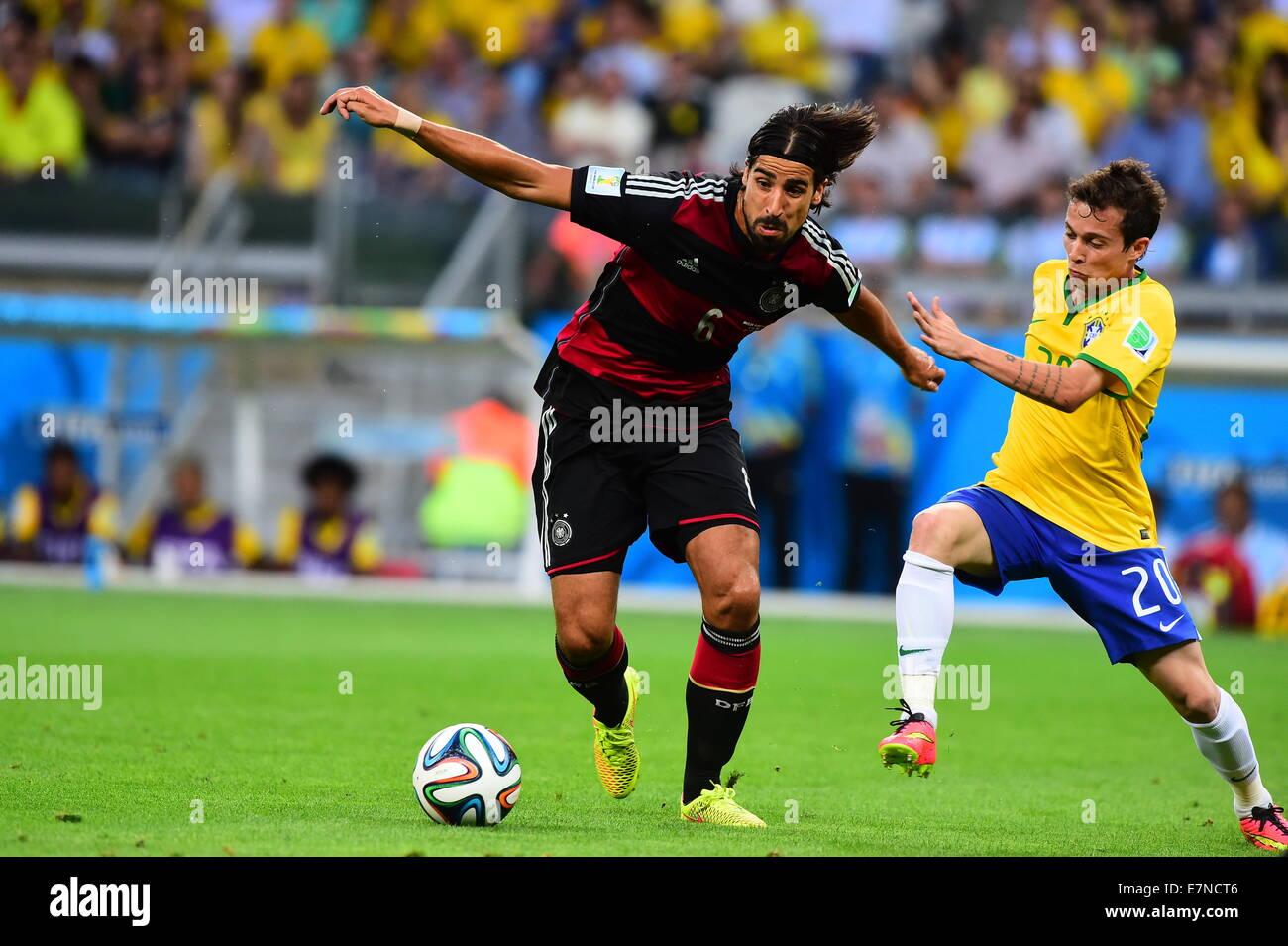 Sami khedira photos sami khedira images alamy - Coupe du monde de la fifa bresil 2014 ...