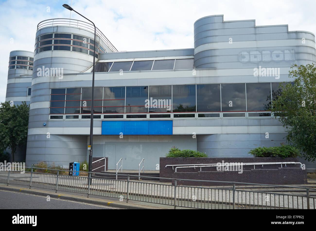 Cinéma Odeon fermé Suffolk Ipswich UK Photo Stock
