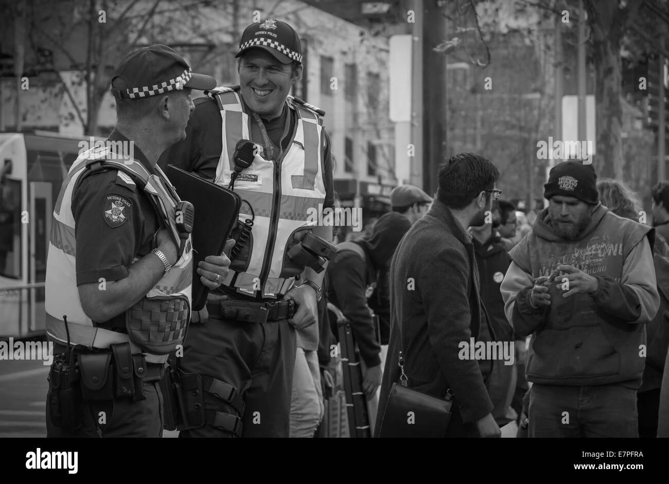 datant d'un policier Australie