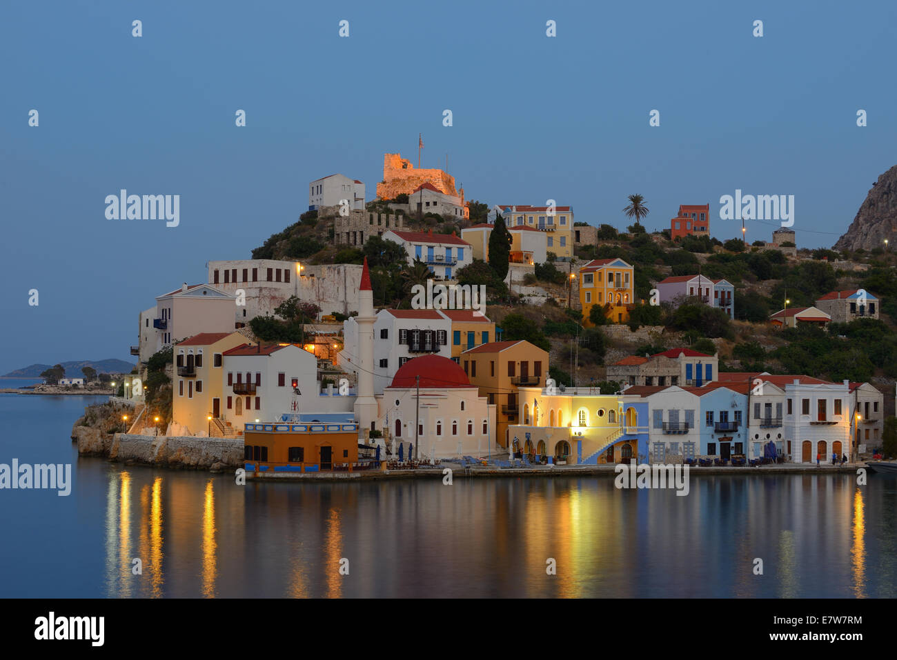Kastellorizo Photo Stock