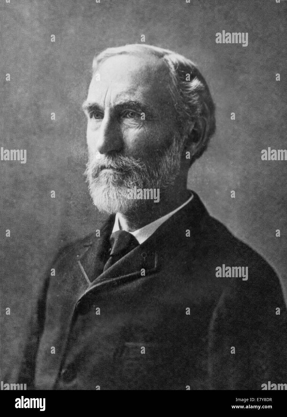 JOSIAH Gibbs (1839-1903) Scientifique Américain Banque D'Images