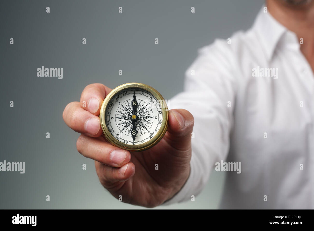 Direction d'entreprise Photo Stock