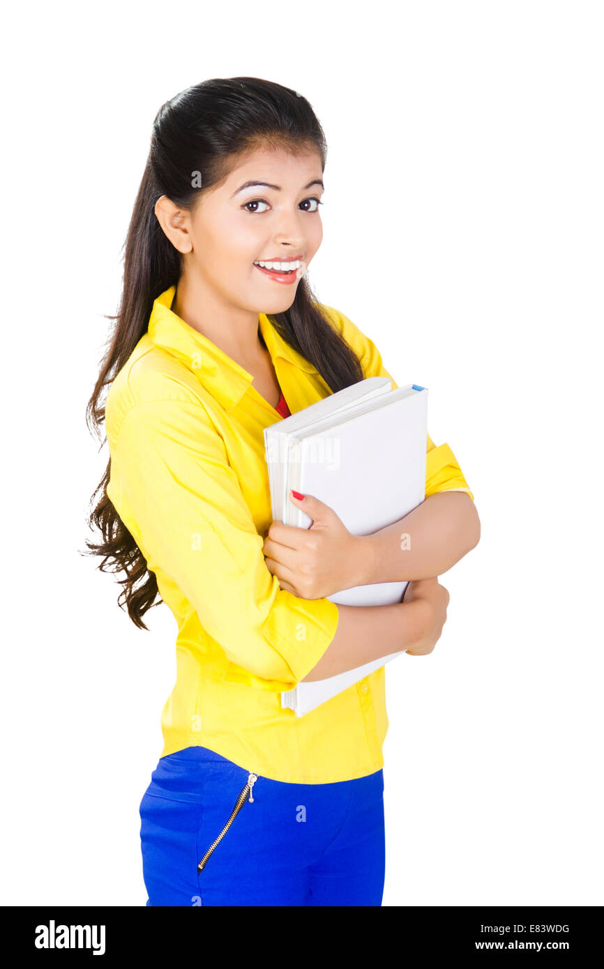 indian college girl banque d'images, photo stock: 73844556 - alamy