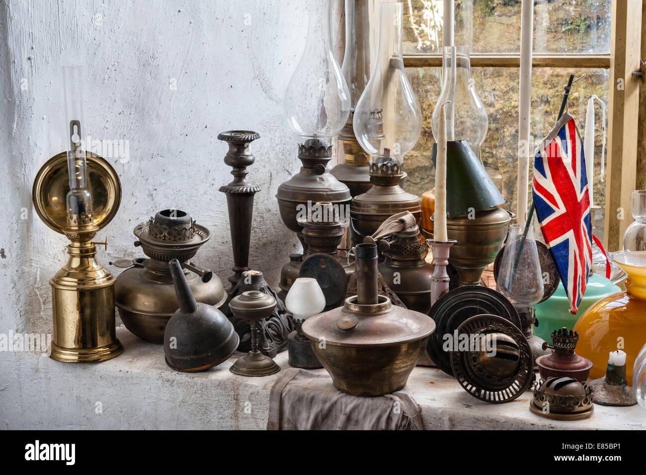 Le juge de son logement, de Presteigne, Powys, au Royaume-Uni. Un musée de la vie de l'époque victorienne. Photo Stock
