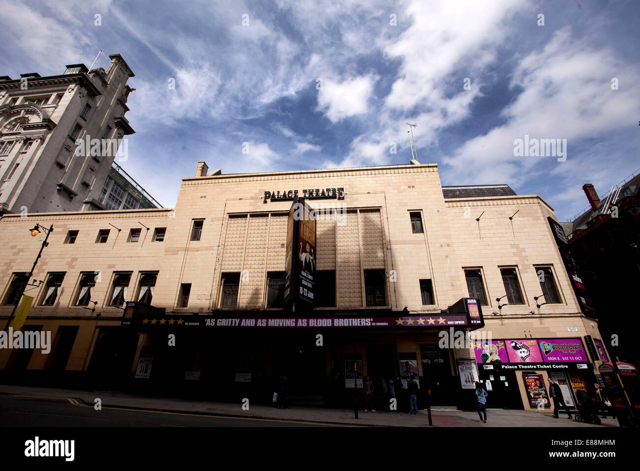 25/6/12 GV du Palace Theatre , Manchester Oxford Road , . Photo Stock