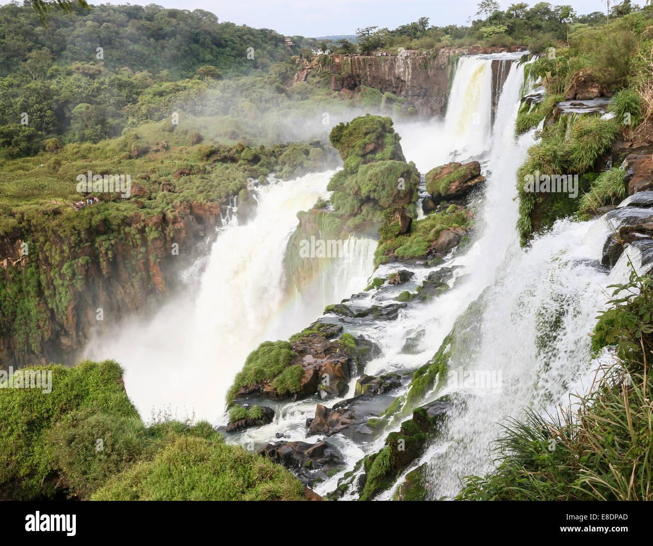 Chutes d'Iguaçu en Argentine Banque D'Images