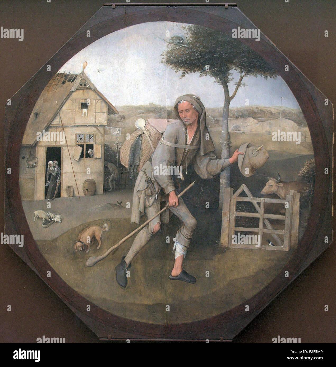 Le Colporteur (la parabole du fils prodigue). Artiste: Bosch, Hieronymus (ch. 1450-1516) Photo Stock