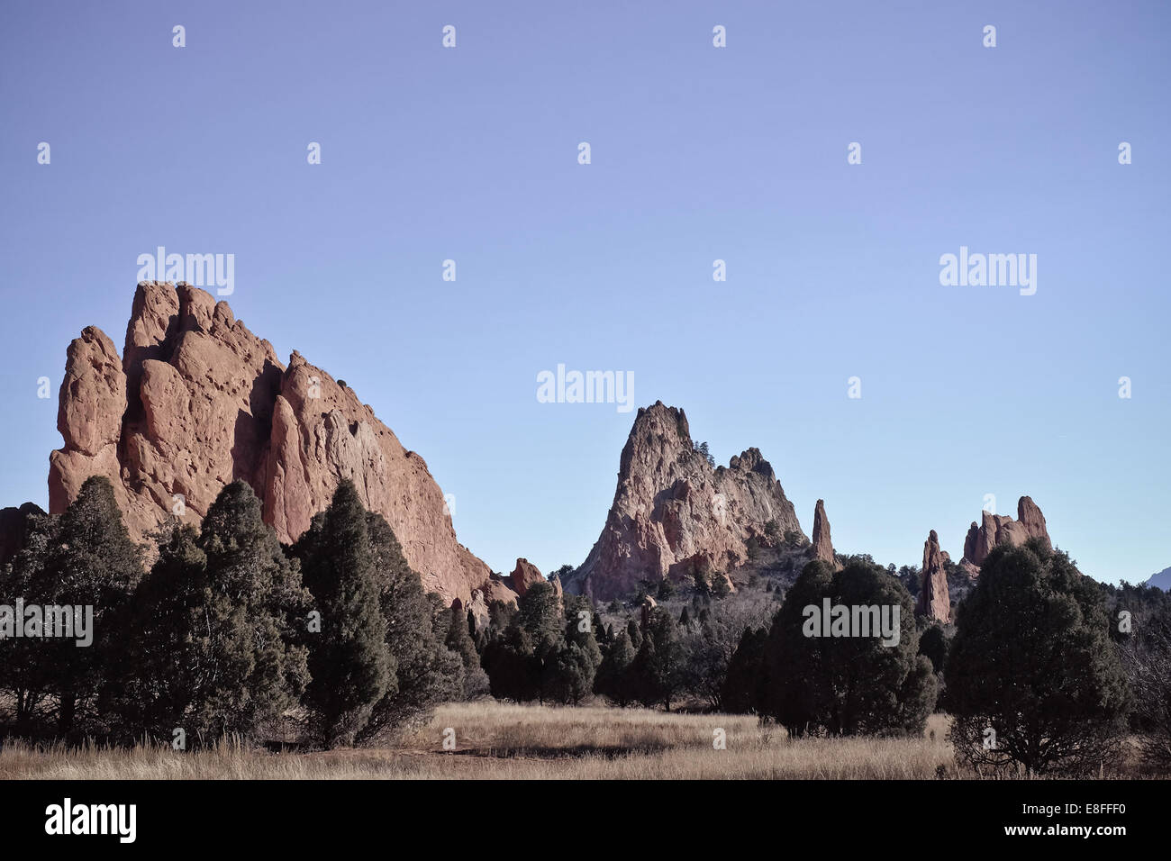 Formation rocheuse Photo Stock