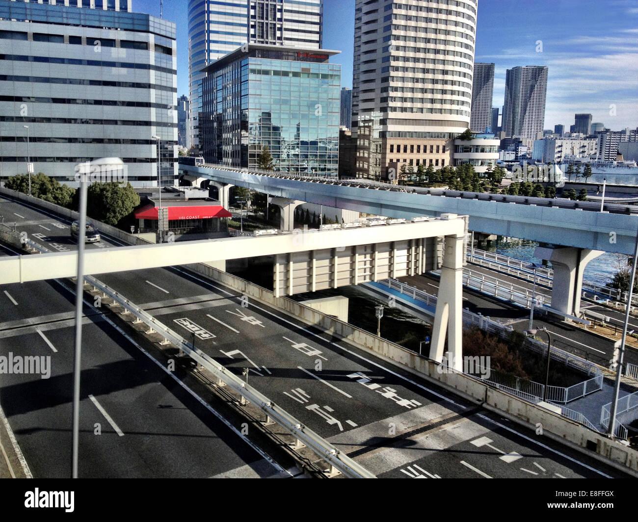 Japon, Tokyo, les rues de la ville Banque D'Images