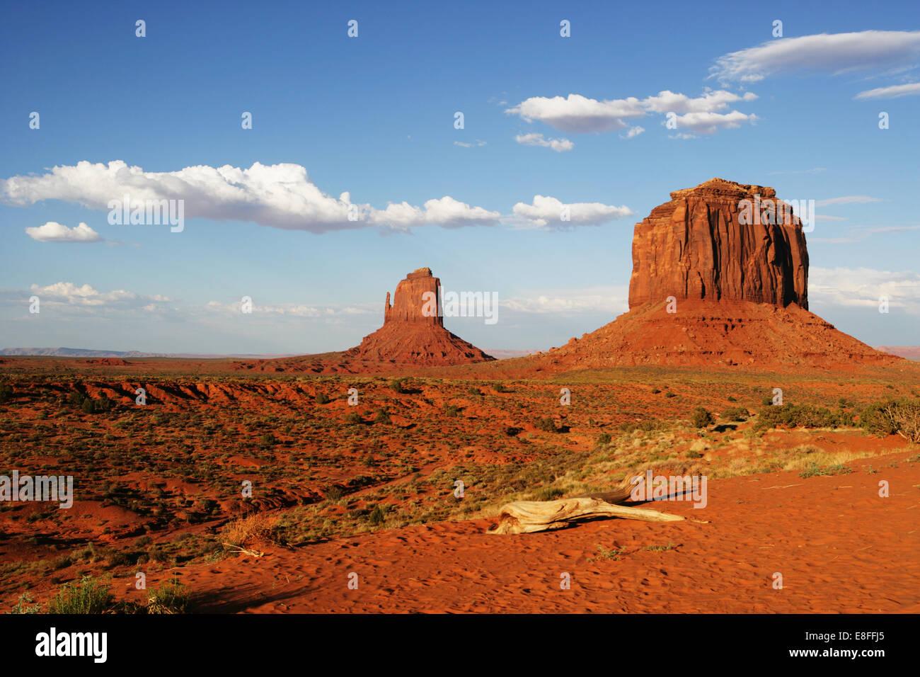 Monument Valley, Arizona, États-Unis d'Amérique Photo Stock