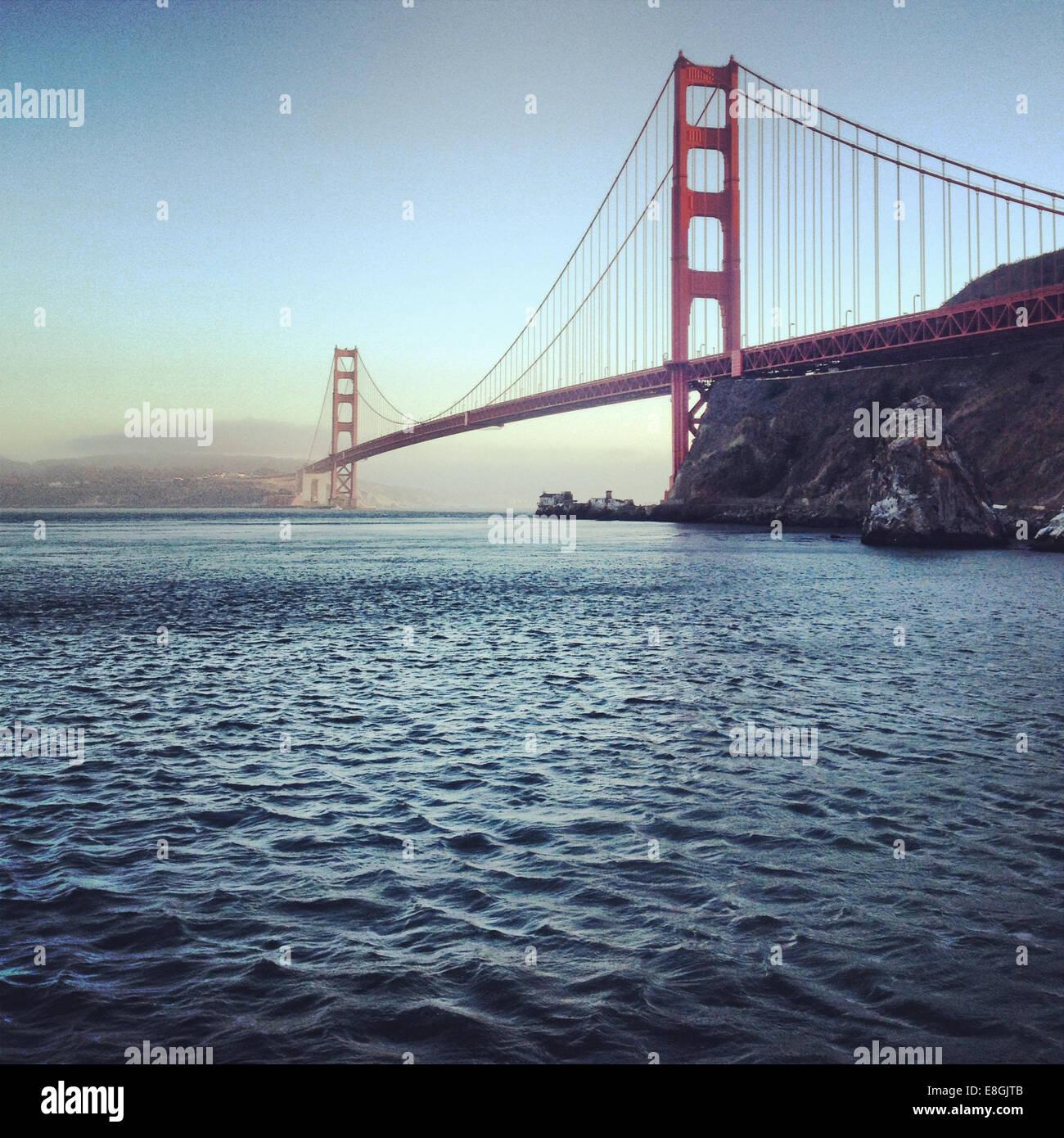 Golden Gate Bridge, San Francisco, États-Unis d'Amérique Photo Stock