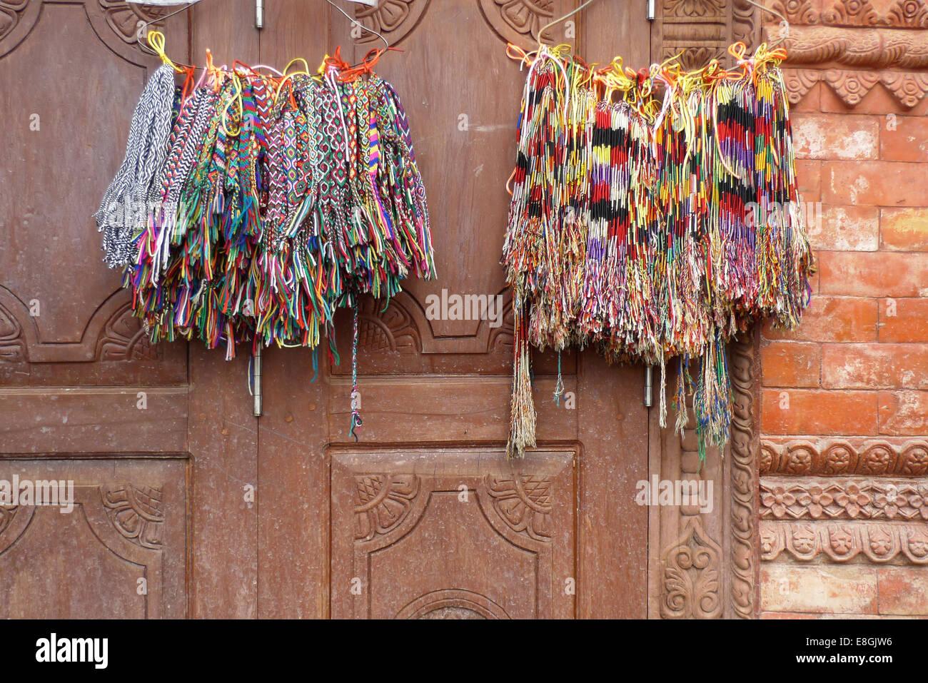Bracelets colorés Photo Stock