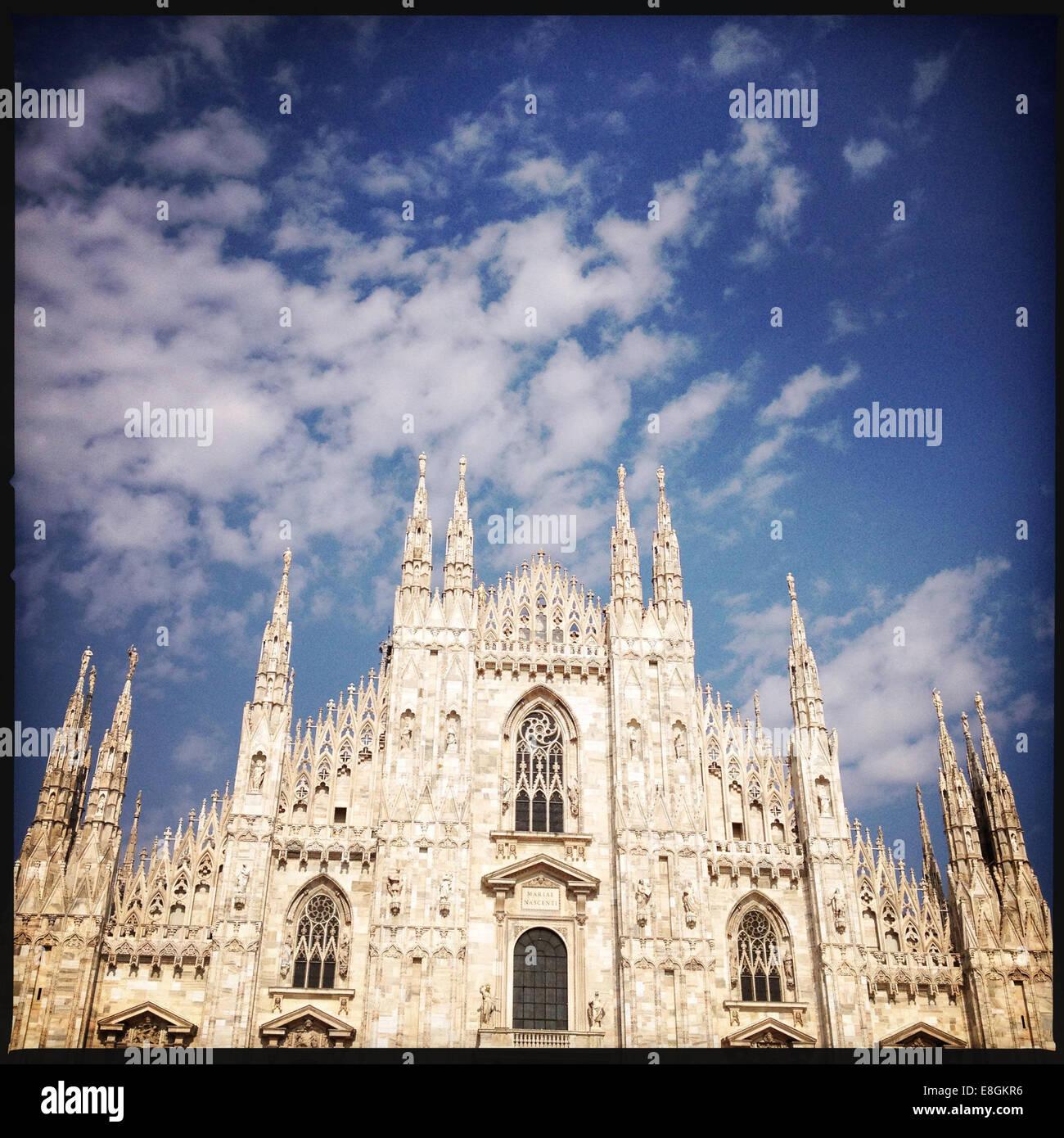 Milan, Lombardie, Italie Le Dôme de Milan Photo Stock