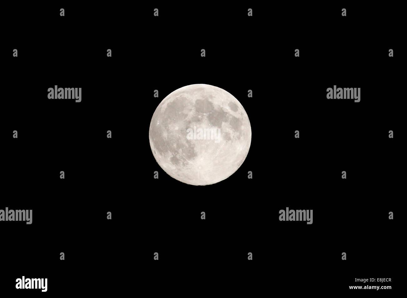 Pleine lune. Photo Stock