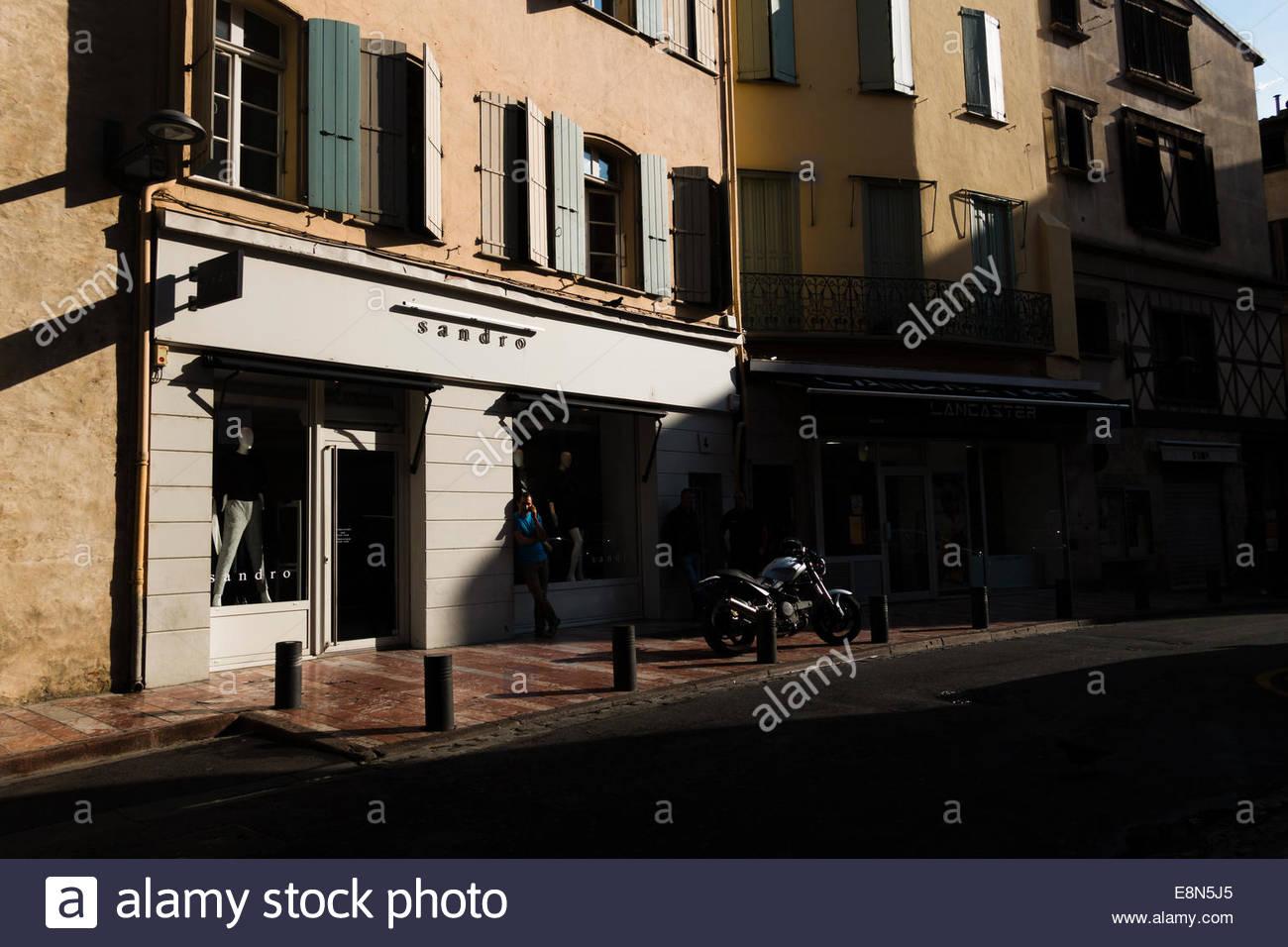 Rues de Perpignan, France. Photo Stock