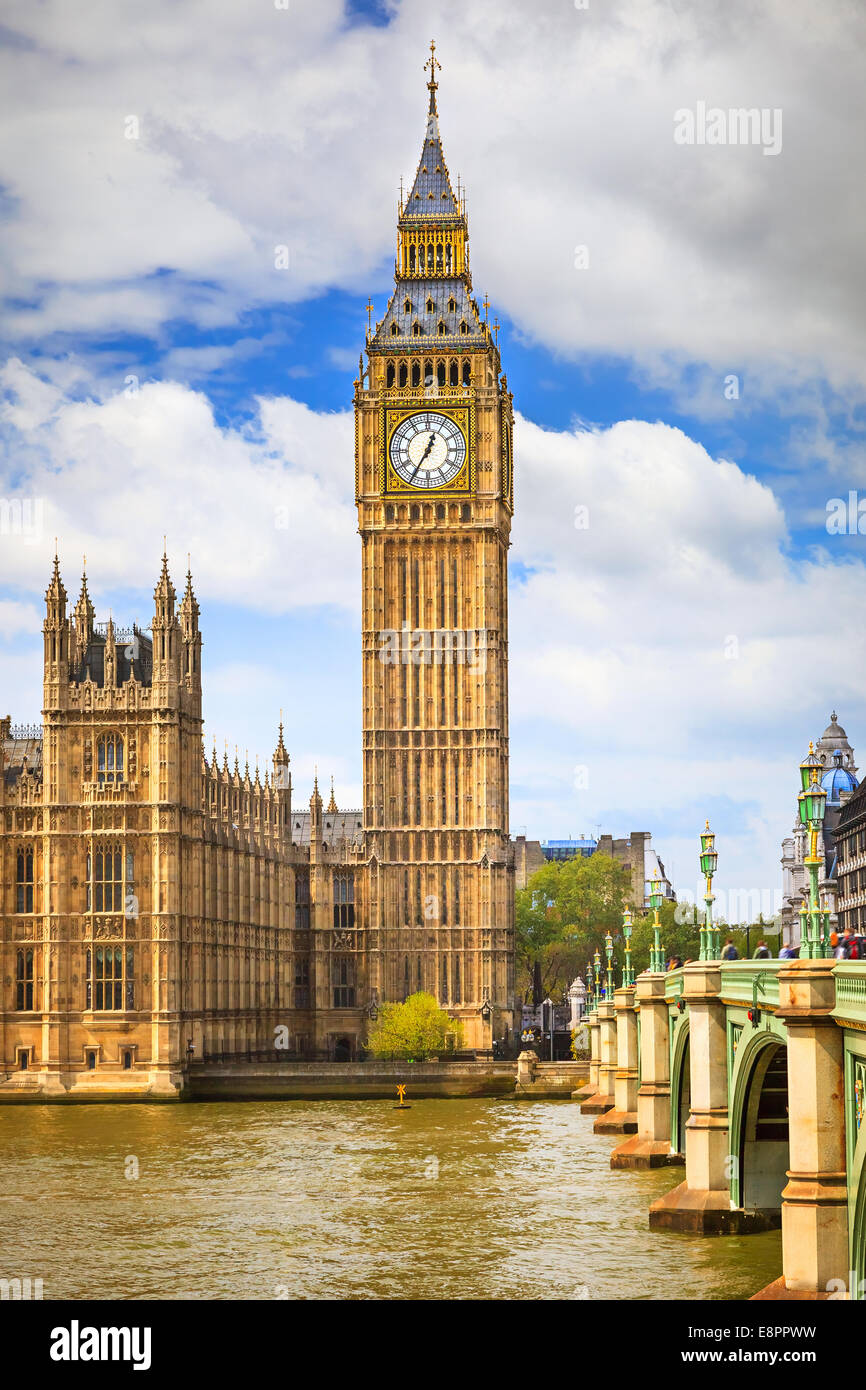 Big Ben à Londres Photo Stock