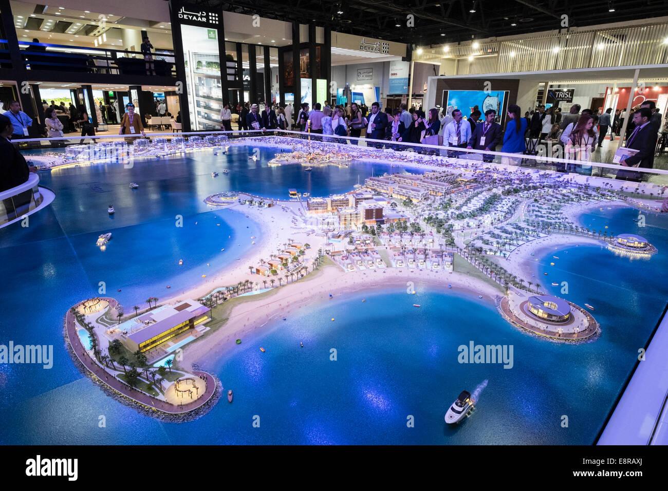 Nouveau modèle de développement de la propriété de luxe La Mer à Dubaï par Meraas Photo Stock