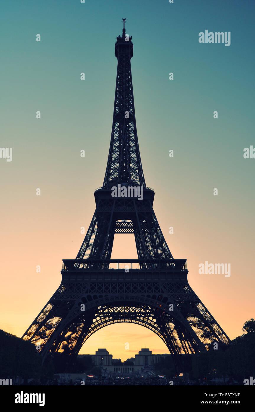 La Tour Eiffel Photo Stock