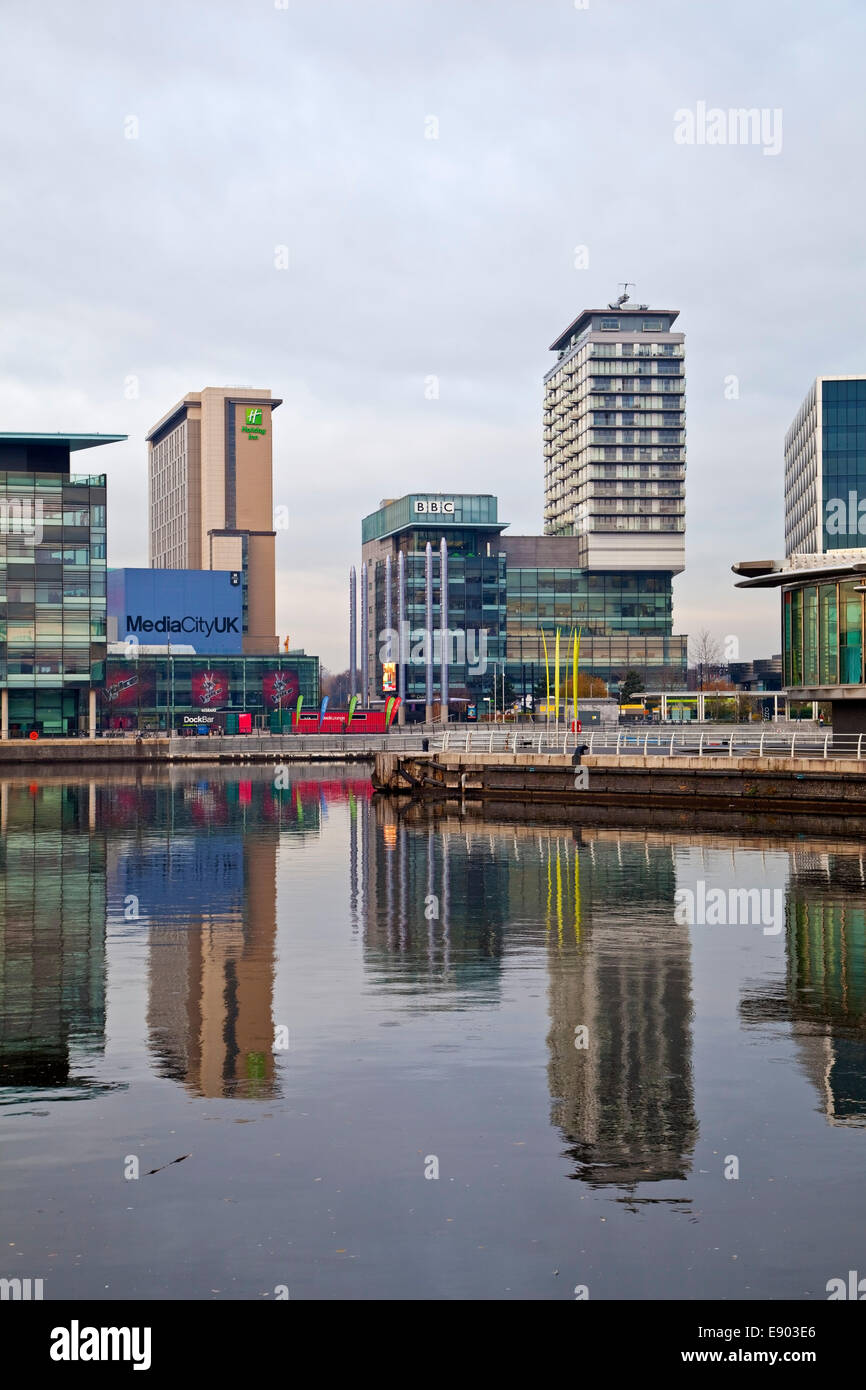 Media City Salford Greater Manchester UK Banque D'Images