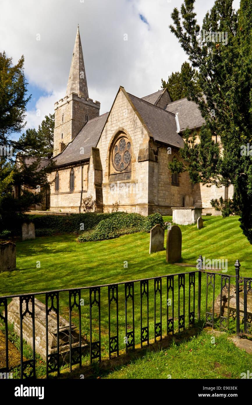 Église de Saint-barthélemy Maltby South Yorkshire UK Banque D'Images