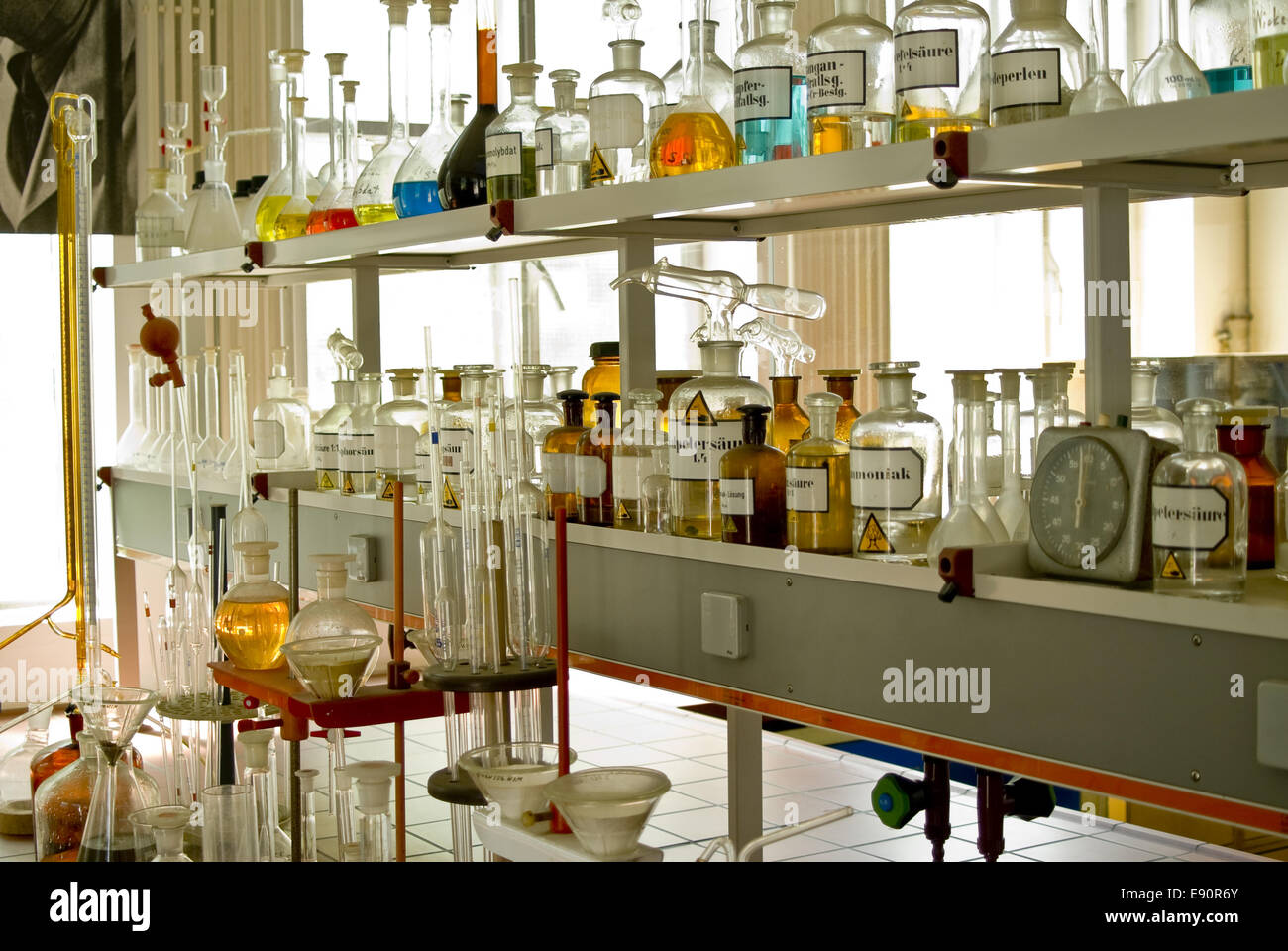 Laboratoire chimique Photo Stock