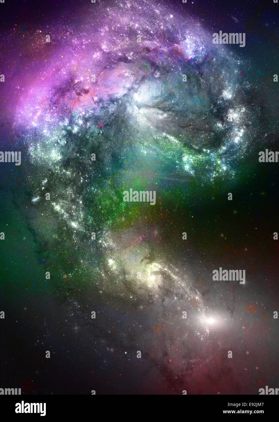 Space stars et nebula Photo Stock