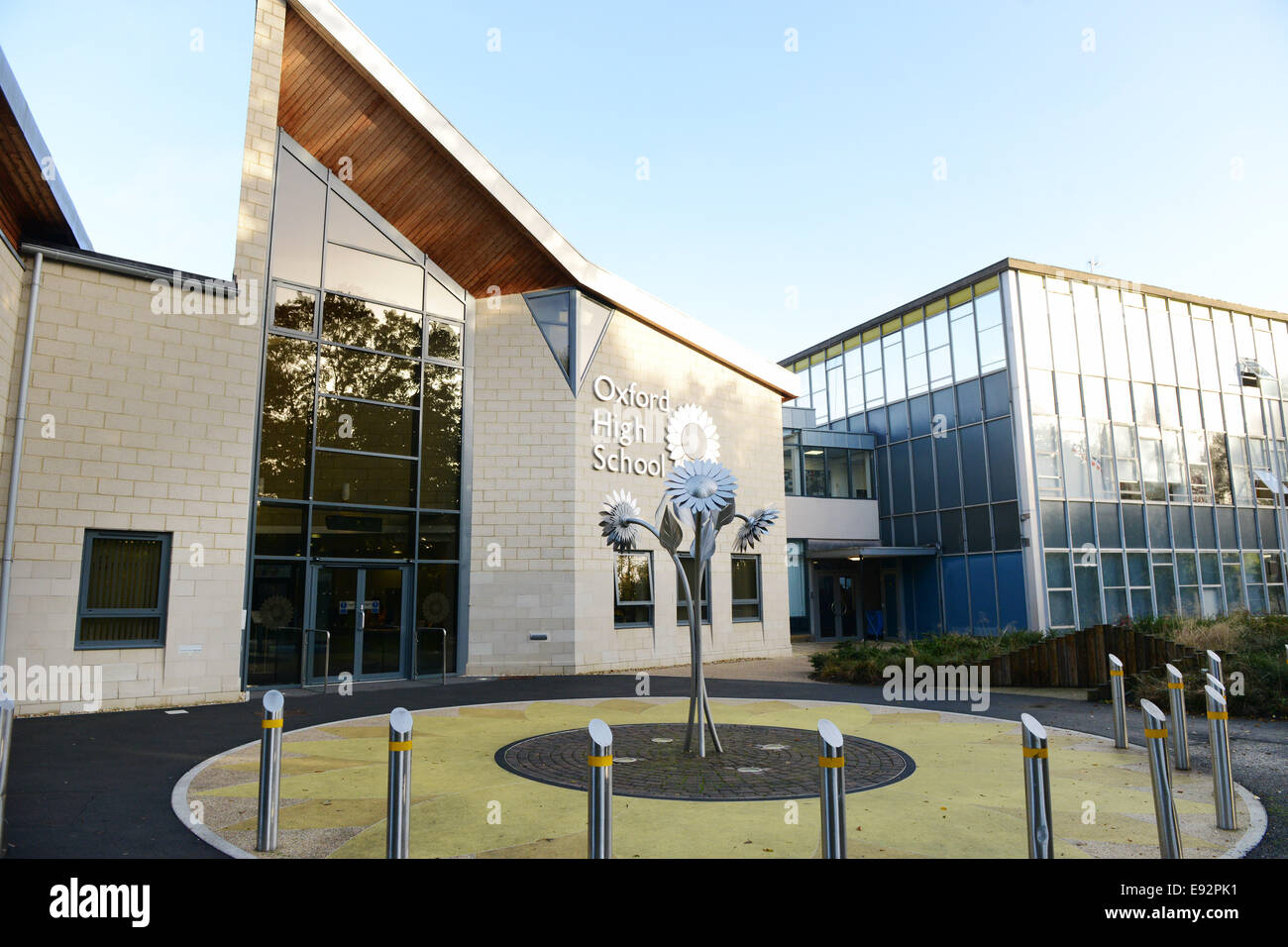 Oxford High School for Girls, Belbroughton Rd GV Pic Richard Cave 17.10.14 Photo Stock