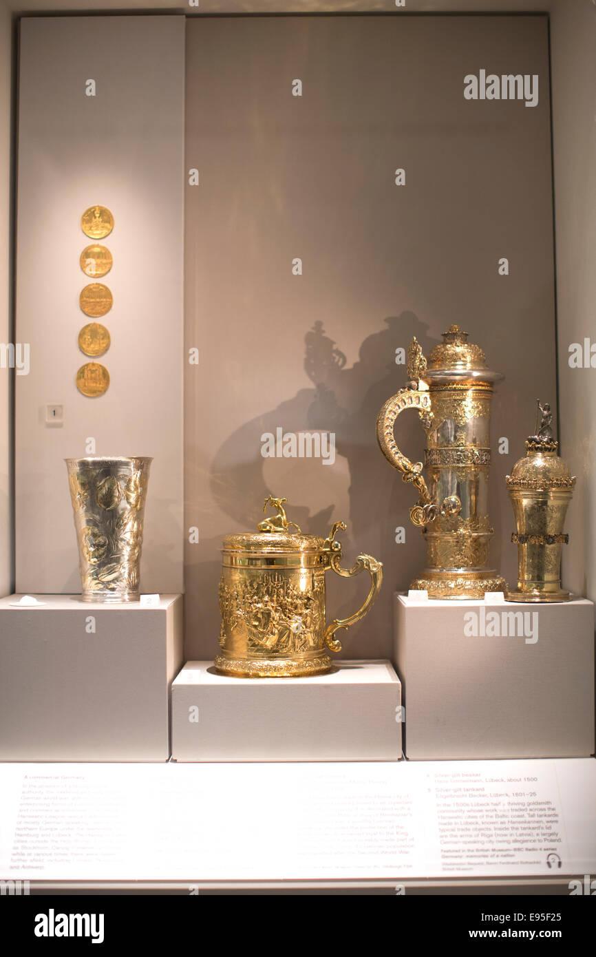 Allemagne Les souvenirs d'une nation - une histoire de 600 ans dans les objets, le British Museum, Londres, Photo Stock