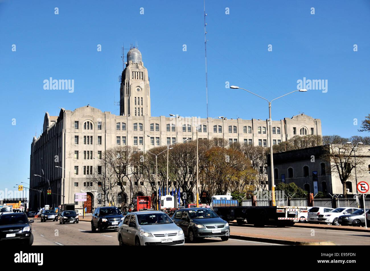Scène de rue Montevideo Uruguay Photo Stock
