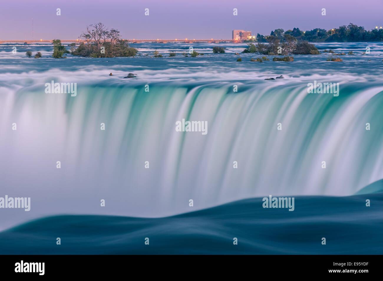 Horseshoe Falls, une partie de la région de Niagara Falls, Ontario, Canada. Banque D'Images