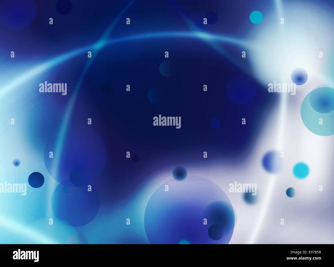 Graphique de connexion cellulaire Photo Stock