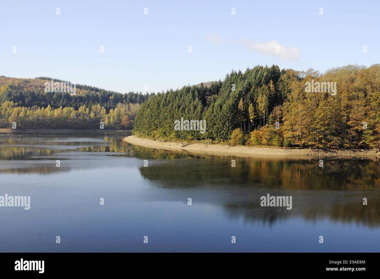 Réservoir, Esch sur sure, Luxembourg Photo Stock