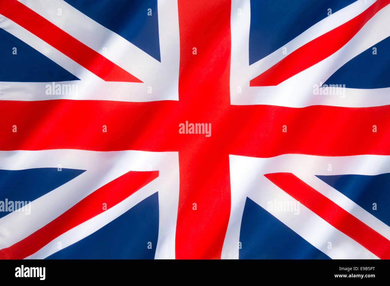 Pavillon du Royaume-Uni de Grande-Bretagne et d'Irlande du Nord - également connu sous le nom de l'Union Jack ou Banque D'Images