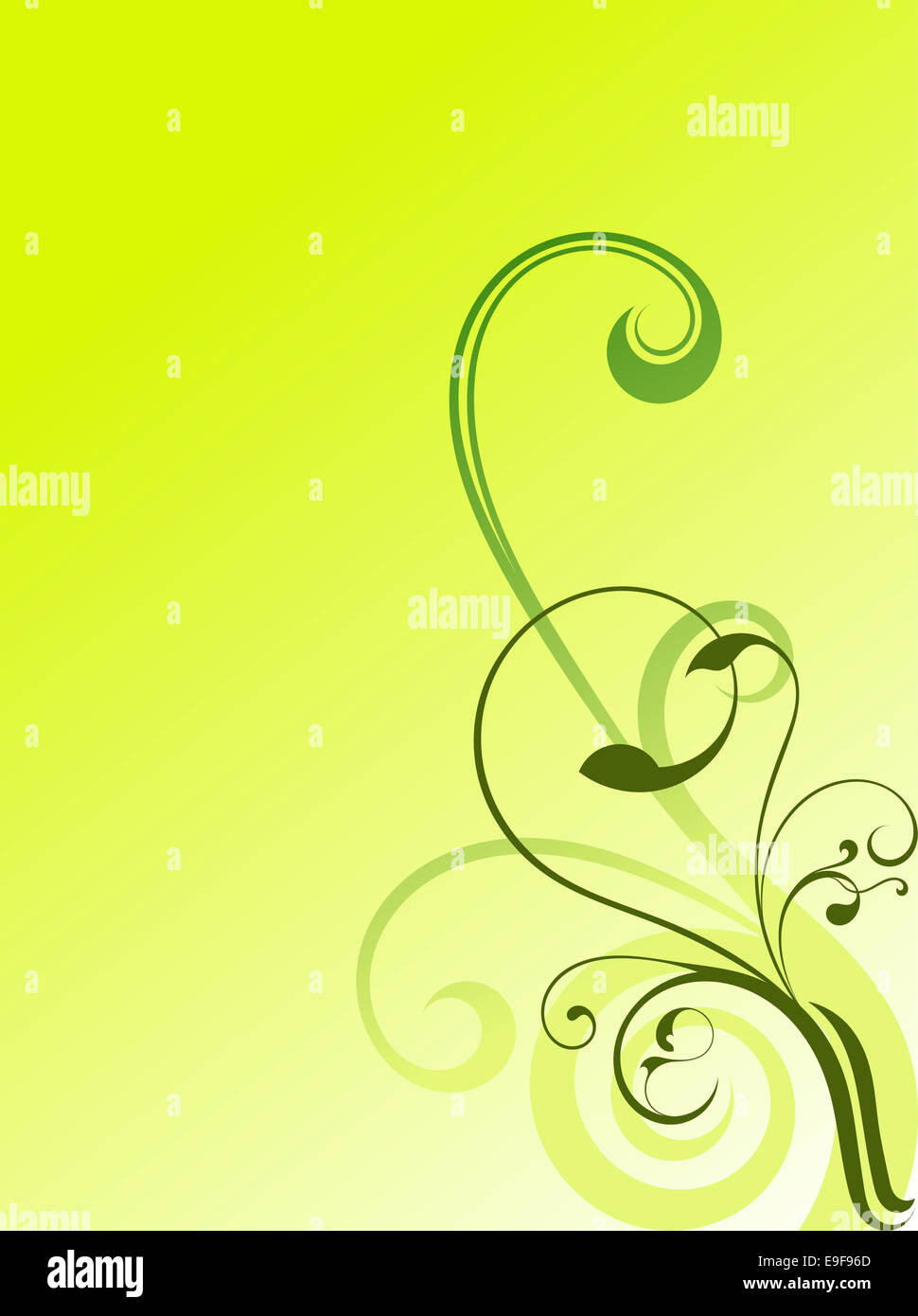Abstract background swirls Photo Stock