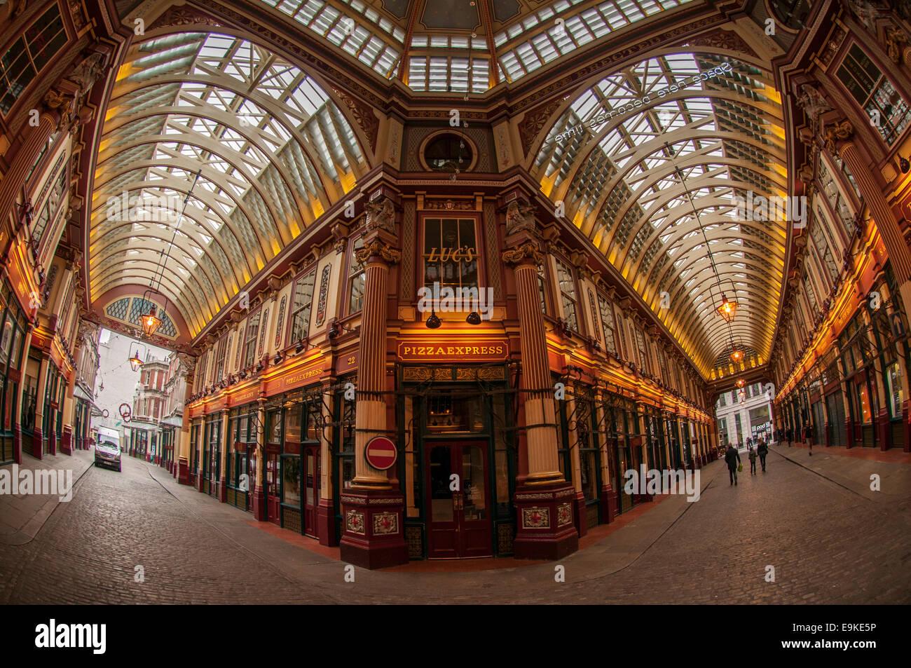 Pizza Express Leadenhall Market Londres Photo Stock