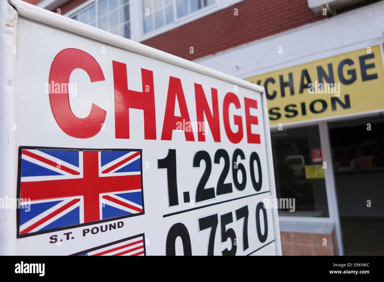 Bureaux de change et guichets automatiques à l euroairport