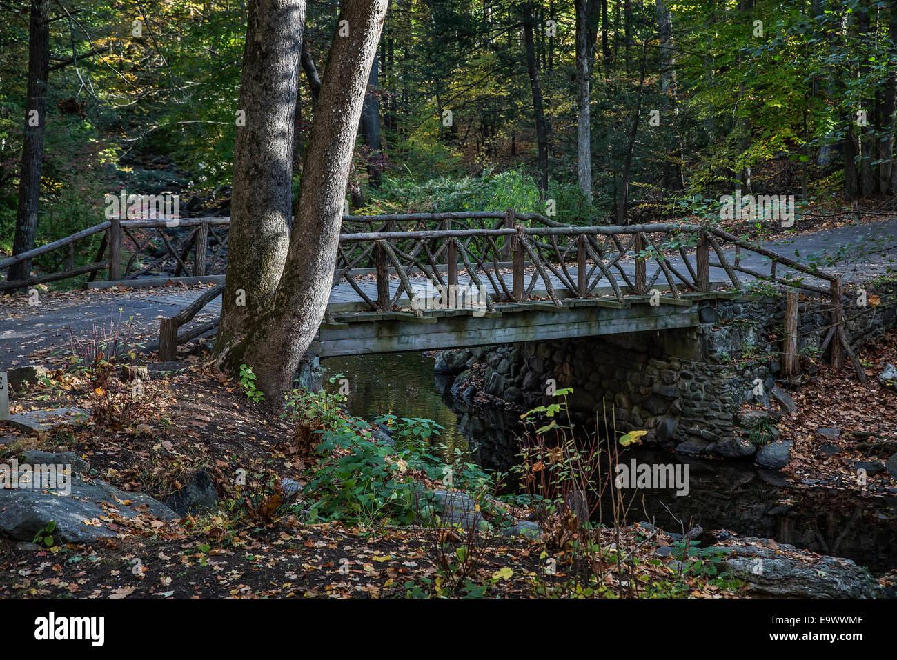 Headless Horseman Bridge, Sleepy Hollow, New York, USA Photo Stock