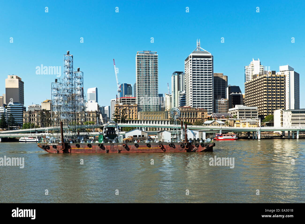 Paysage urbain. Brisbane, Queensland, Australie, Pacifique Banque D'Images