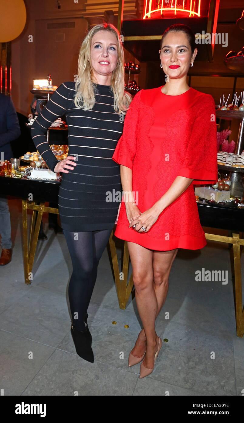 super popular 89f46 ec9e1 Créateur de mode allemand Jette Joop et Emma Heming-Willis ...