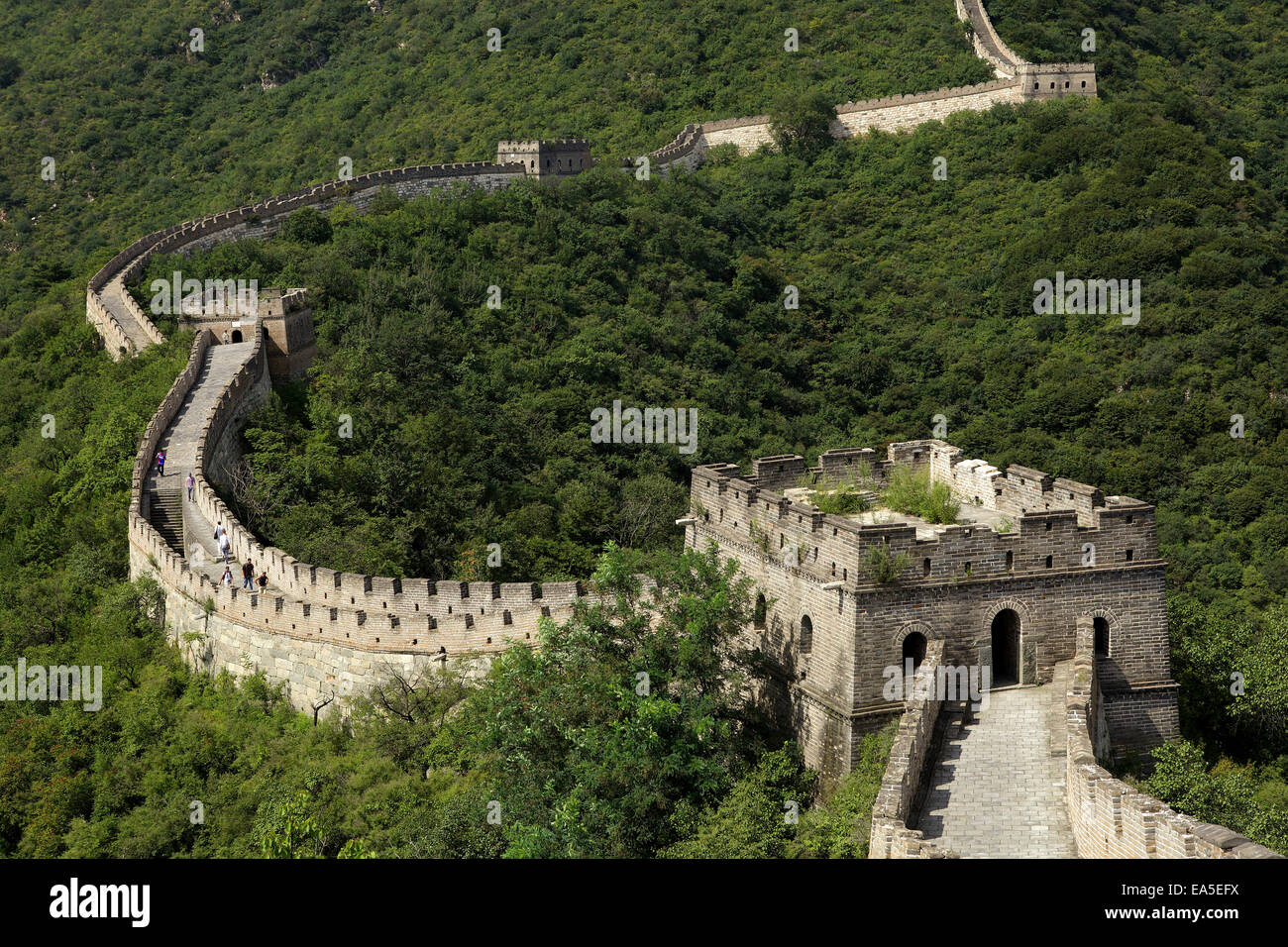 La Chine, Grande Muraille Photo Stock