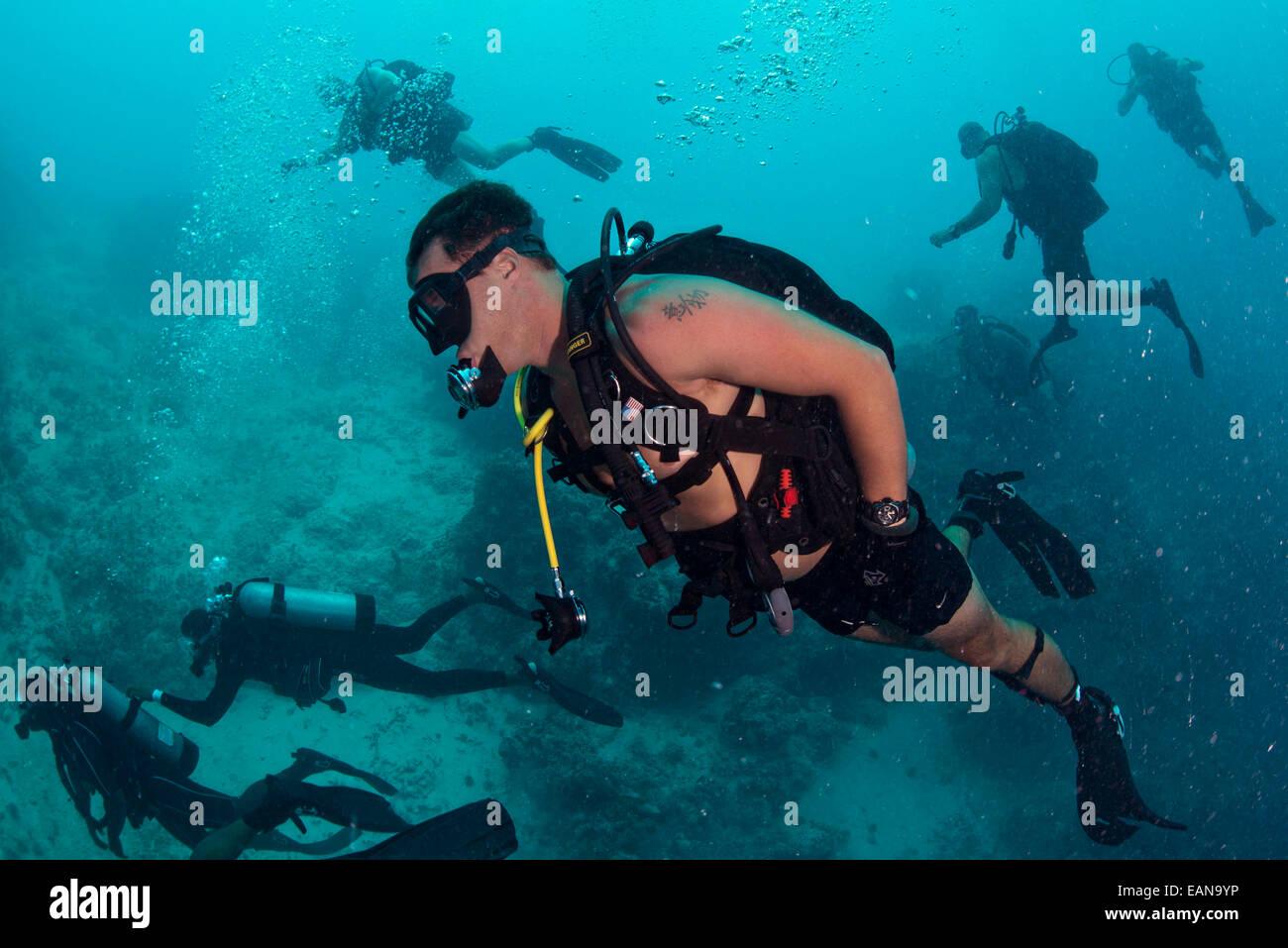 Cours de plongée belize