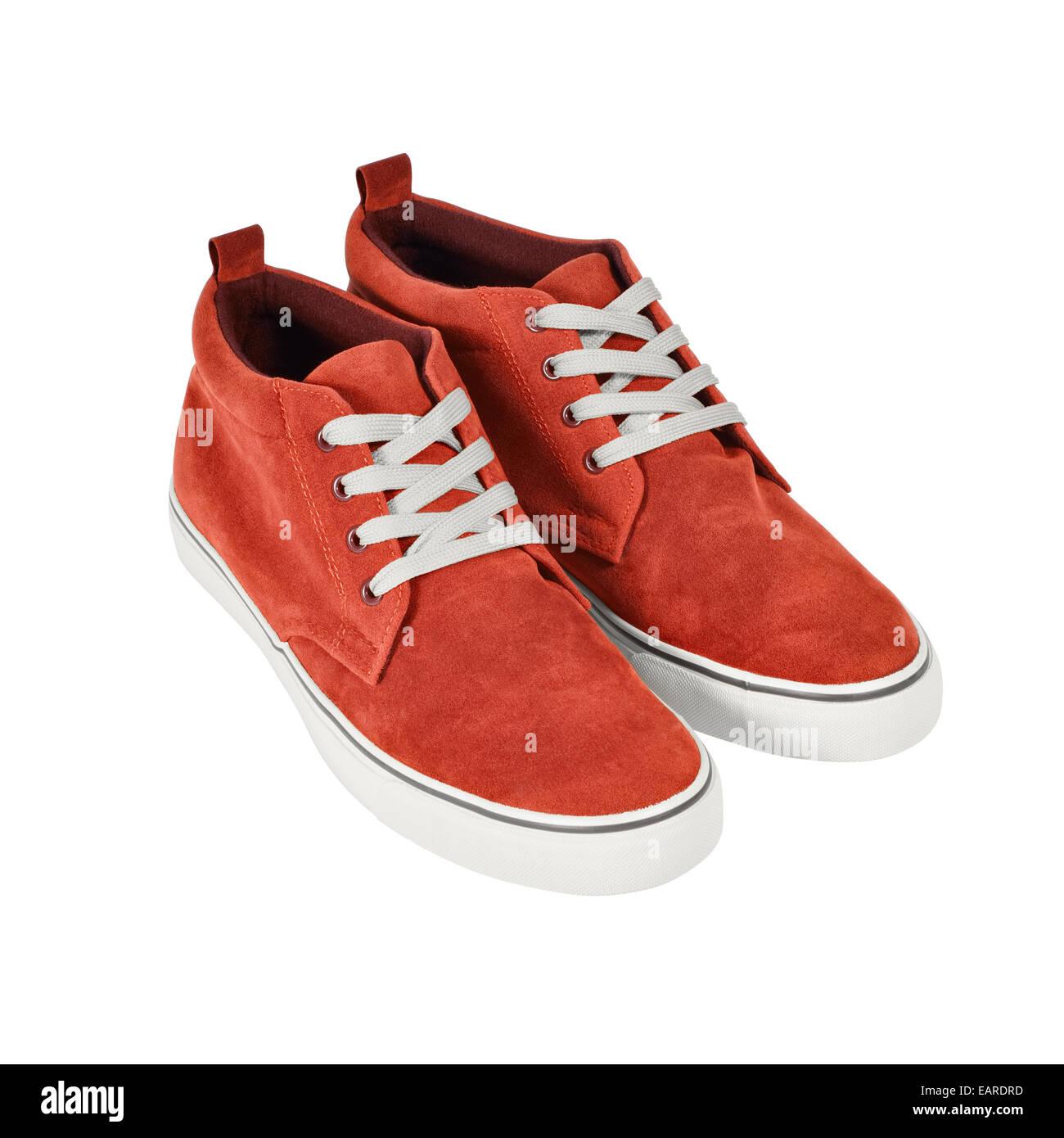 promo code 69242 34aae Une paire de chaussures de style décontracté isolé sur fond blanc. Chemin  de détourage inclus.