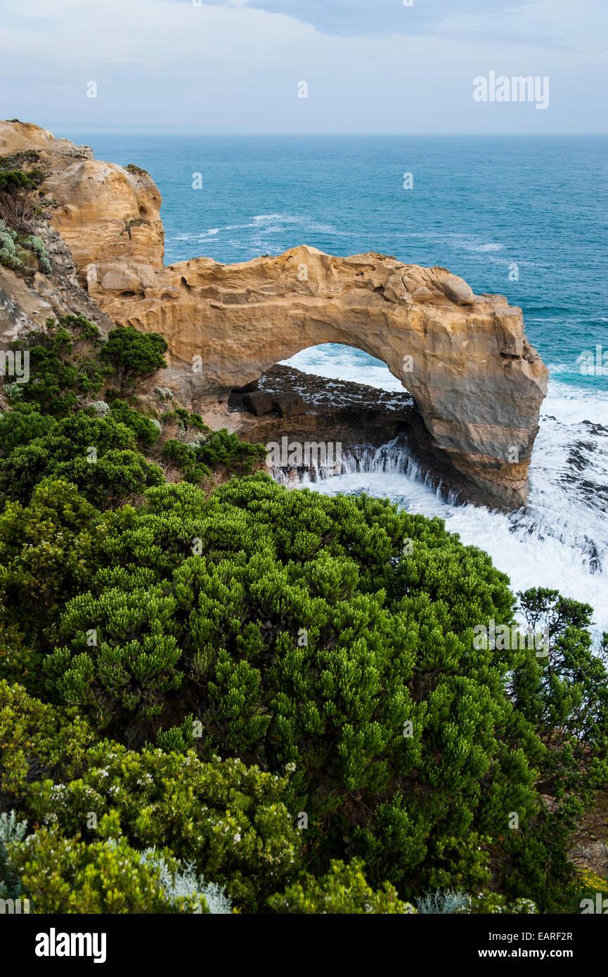 L'Arche, Port Campbell National Park, Victoria, Australie Photo Stock